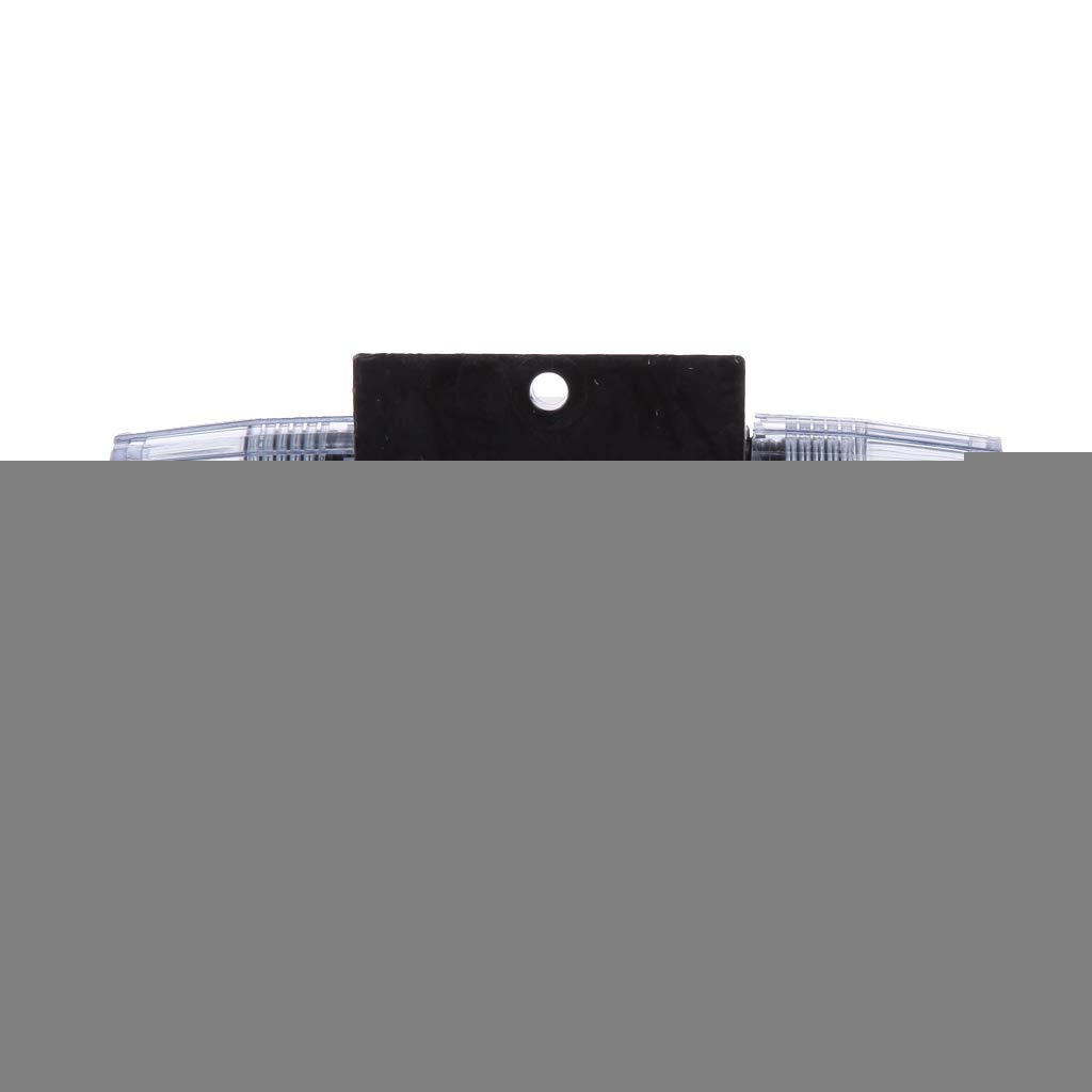 24V 60A 01 Disyuntor Interruptor Cortacircuitos para Circuito de Est/ére-o de Autom/óvil//Portafusibles para Coche 12V