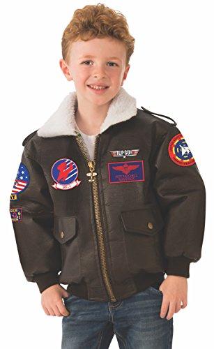 Rubie's Top Gun Child's Costume Bomber Jacket, Large -