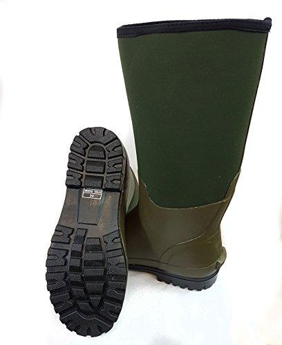 Bison 6-mm-Neopren-Stiefel im Wellingtonstil
