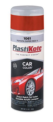 PlastiKote 1061 Toyota Super Red II Automotive Touch-Up Paint - 11 oz.
