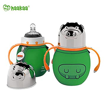 Amazon.com: haaka Acero Inoxidable Aislamiento Botella Boca ...