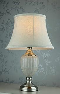 Grey /& Silver Ceramic Porcelain Table Lamp Antique Style GZ891