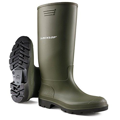 Grisport Unisex-Erwachsene Dunlop Budget Welly Outdoor Fitnessschuhe, Grün, 39 EU