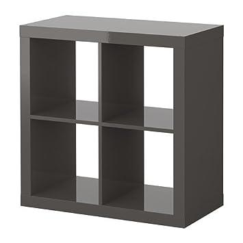 IKEA Expedit Regal in hochglanz grau: Amazon.de: Küche & Haushalt