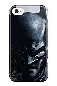 LLYH Scratch-free Phone Case For Iphone 4/4s- Retail Packaging - Arkham Origins