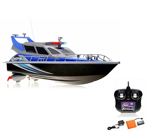 RC Boot Schiff Polizeiboot, Polizeischiff, RC Küstenwache, Ready-to-Run, 430mm, inkl. Akku und Fernsteuerung