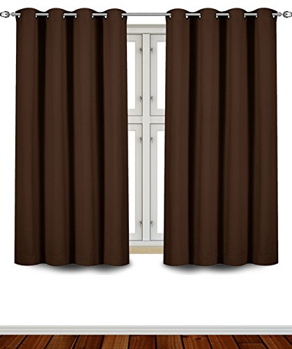 Utopia Bedding Insulated Blackout Chocolate