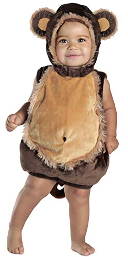 Princess Paradise Baby's Deluxe Melvin the Monkey Costume,Brown/Beige 6-12 Months ()