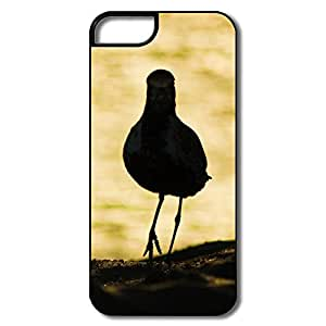 IPhone 5 5S Cases, Bird Back White/black Protector For IPhone 5/5S