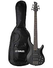 Yamaha TRBX505 5-String Electric Bass Guitar, Translucent Black