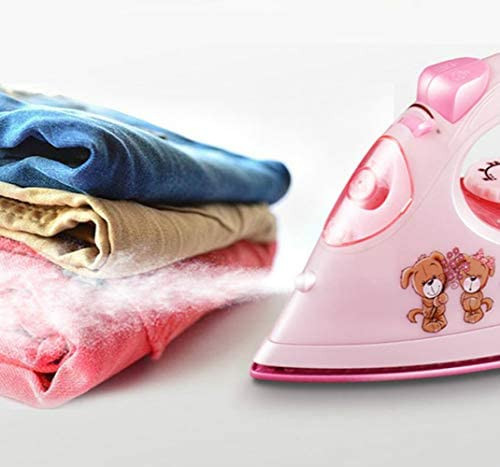 Maserfaliw Mini iron Electric Iron Household Steam Mini Handheld Steam Iron Portable Ironing Clothes for Spray Steam Wet and Dry 220V