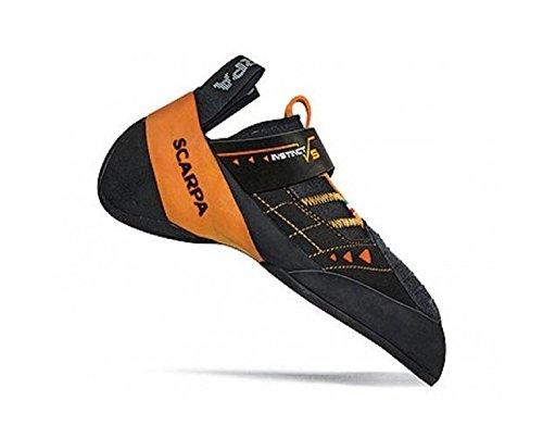 SCARPA Instinct VS Climbing Shoe Black/Orange 46