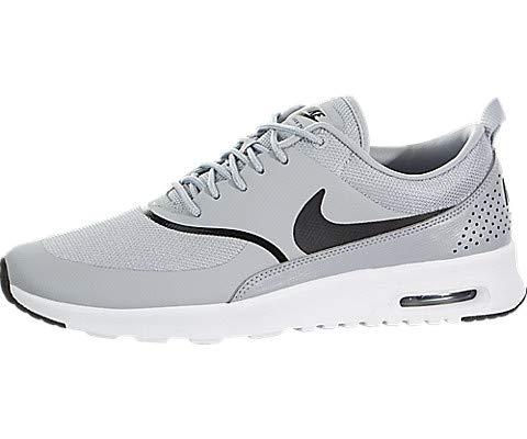 Nike Women's Air Max Thea Gymnastics Shoes Wolf Grey/Black 030, 5.5 UK 39 EU