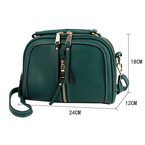 1FS 03090X Borsa donna tracolla 02He a Rosso Red AiSi bb Green BnY6qgwxw7