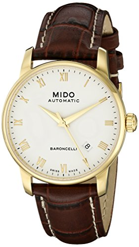 mido-mens-mido-m86003268-baroncelli-analog-display-swiss-automatic-brown-watch