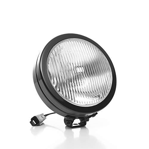 KC HiLiTES 1127 SlimLite Black 100w Single Fog Light with ABS Stone Guard