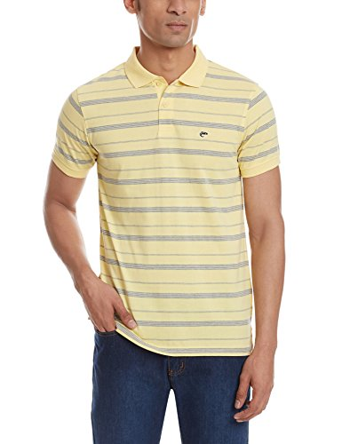 Ruggers Men's Cotton Polo (8907242486925_265337899_X-Large_Grey Melange)