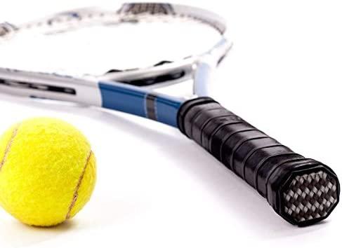 Febbya Tenis Grip, Raqueta Grip 9 Pack Anti Slip Perforado Overgrip Tenis Bádminton Squash Racketball Raqueta y caña de Pescar
