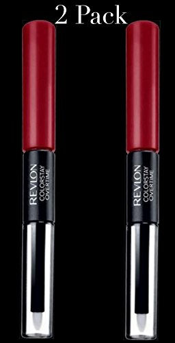 (Revlon ColorStay Overtime Liquid Lip Color, Ultimate Wine [140] 0.07 oz (Pack of 2))
