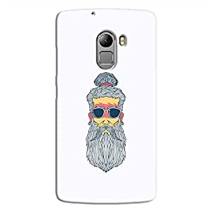 Cover It Up - Hipster Yogi K4 Note Hard Case