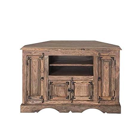 MASSIVMOEBEL24.DE Möbel massiv Holz Palisander geölt grau TV ...