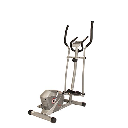 Sunny Health & Fitness Magnetic Elliptical Trainer by SF E3628 Magnetic Elliptical Trainer, Gray