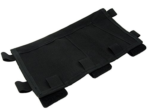 Zulu Nylon Gear MOLLE Visor Panel (Black)