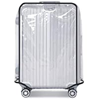 26 28 30 Inch Luggage Cover Protector Bag PVC Clear Plastic Suitcase Cover Protectors Travel Luggage Sleeve Protector (30 Inch)
