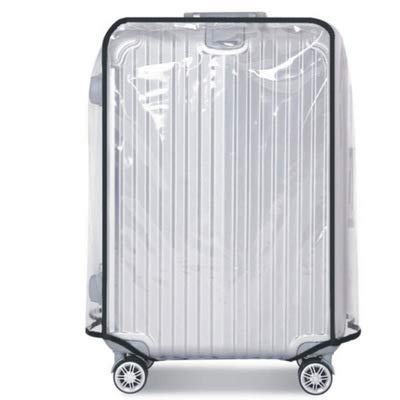 26 28 30 Inch Luggage Cover Protector Bag PVC Clear Plastic Suitcase Cover Protectors Travel Luggage Sleeve Protector (26 Inch)