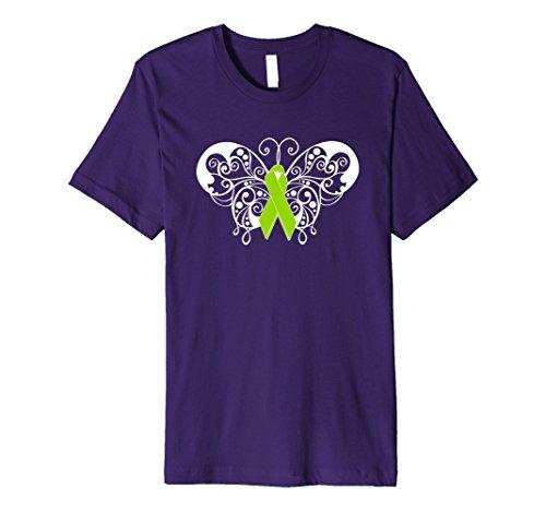 Mens Mental Health Awareness Ribbon Shirt Butterfly Products XL (Mental Health Awareness Bracelets)