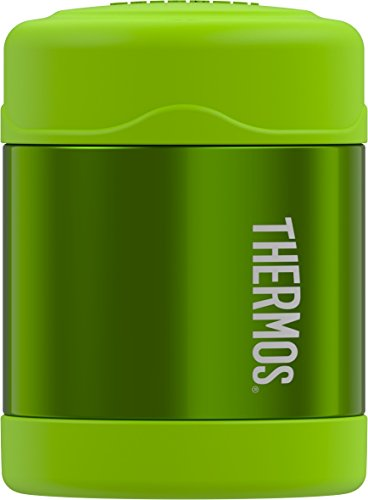 Thermos Funtainer 10 Ounce Food Jar, Lime Green - Ounce Bag Gems 10