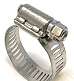 """Size #12 (5/8"""" ~ 1-1/4"""") All Stainless Hose"""