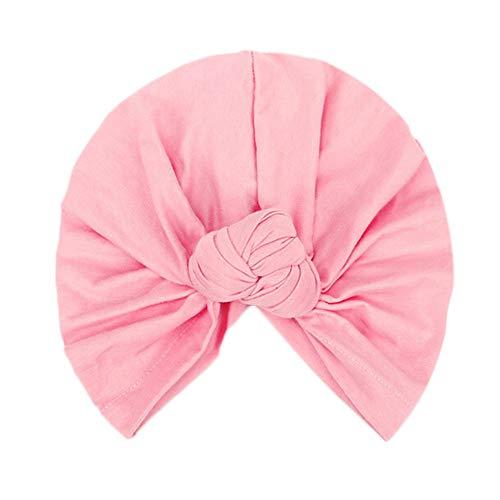 5f16e52b2fa37 Women s Knotted Turban Hat Hair Loss Head Wrap Cap Chemo Cap Cancer Cap Fas.