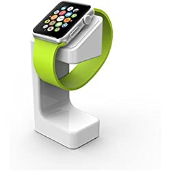 Black Friday Deals Cyber Monday Deal-For Apple Watch Stand,Charging Stand Bracket Docking Station Holder for Apple Watch Apple Watch Charging Dock Station Platform iWatch(38mm and 42mm) (White)