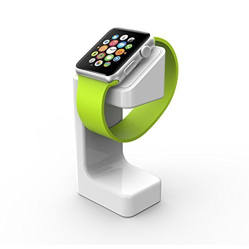 Black Friday Deals Cyber Monday Deal-For Apple Watch Stand,Charging Stand Bracket Docking Station Holder for Apple Watch Apple Watch Charging Dock Station Platform iWatch(38mm and 42mm) (White) (Best Black Friday Cyber Monday Deals 2019)