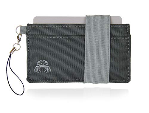 Crabby Wallet - Thin Minimalist Front Pocket Wallet - C3 Canvas Wallet ()