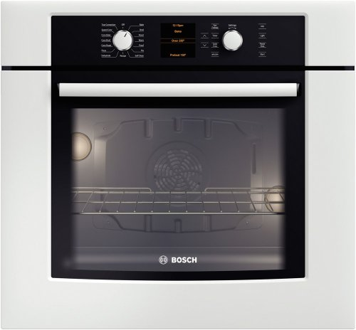 """Bosch HBN5451UC 500 27"""" Stainless Steel Electric Single Wall Oven - Convection"""
