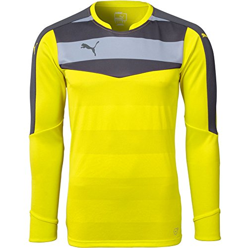 PUMA Men's Stadium Goalkeeper Yellow Jersey - S