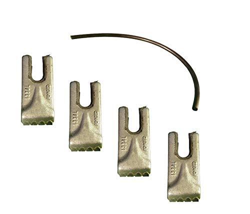 (4- Pengo Carbide Auger Teeth w/Rubber Quick Lock- CS, AG, Aggressor- 140016 )