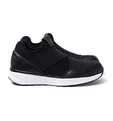 Basse 9350607p419 Armani 9350607p419 nero Sneaker Armani Uomo qxvfw1