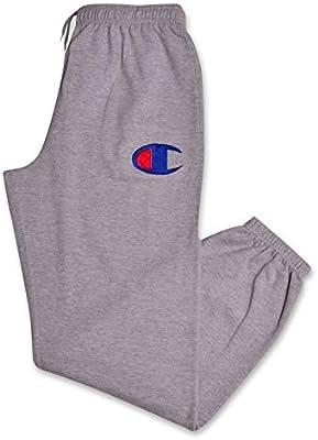 1b2dc8a7 Champion Mens Big and Tall Fleece Jogger Sweatpants with C Logo ...
