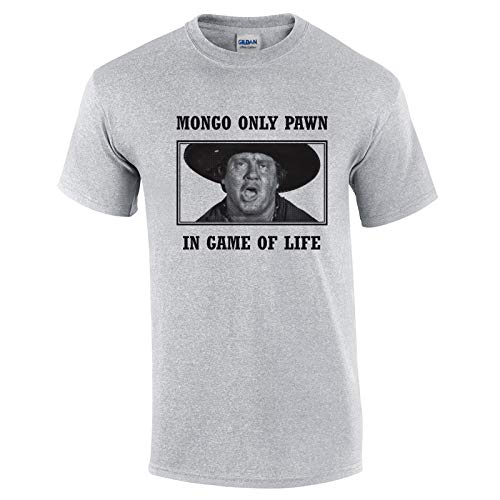 Swaffy Tees 29 Mongo Pawn Funny Men's T Shirt Sport Grey (Mongo Just Pawn In Game Of Life Quote)