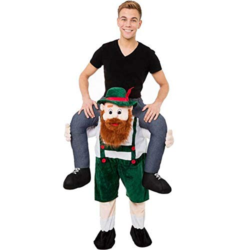 Party Unique Piggyback Ride On Riding Shoulder Adult Costume -