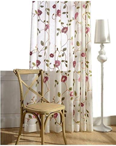 TIYANA Floral Curtain