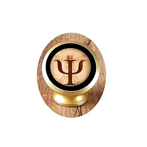 hars PSI Symbol Necklace, Psychology Pendant, Jewelry,Gift for Psychologist,da Vinci,Photo,Picture, Anatomy Magnetic Car Phone Mount Holder