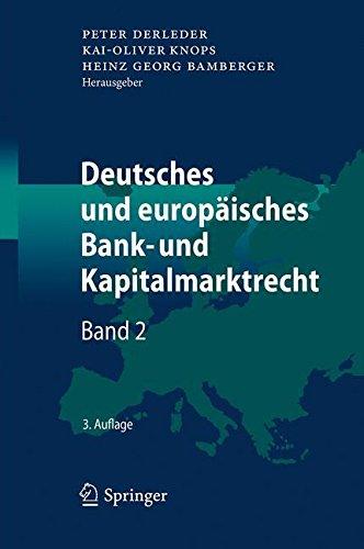 deutsches-und-europaisches-bank-und-kapitalmarktrecht-band-2-german-edition
