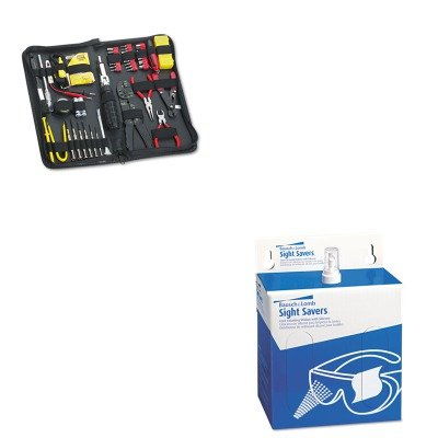 kitbal8565fel49106-value-kit-bausch-amp-lomb-sight-savers-lens-cleaning-station-bal8565-and-fellowes