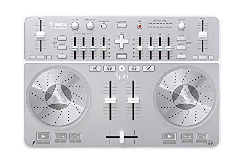 Vestax Spin USB MIDI/AUDIO DJ Controller for Mac computers