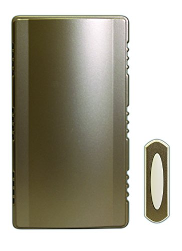 HEATHCO Heath Zenith SL-7451-02 Doorbell Chime Kit, Satin Nickel