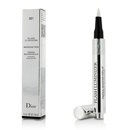 Christian Dior Flash Luminizer Radiance Booster Pen, 001 Pink, 0.09 Ounce (Flash 001)